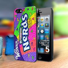 Wonka Nerds Iphone 5 case | TheYudiCase - Accessories on ArtFire