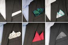 Cómo usar el pañuelo de bolsillo (II)
