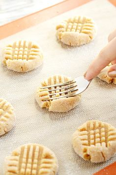 These peanut butter cookies are our favorites! My mom makes them every Christmas :)