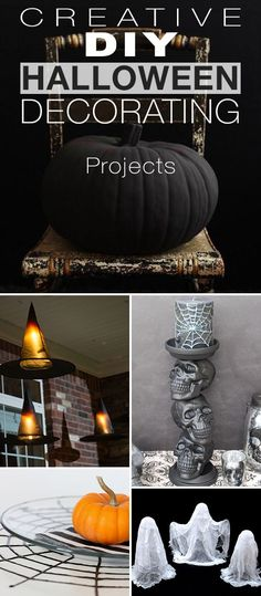 Top 20 DIY Halloween Decor Ideas DIY Halloween, Halloween parties - halloween diy decoration