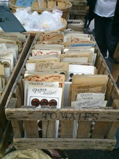 Brocante - les boutons