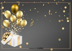 Black Simple Birthday Background <br> More than 3 million PNG and graphics resource at Pngtree. Find the best inspiration you need for your project. Birthday Photo Frame, Happy Birthday Frame, Happy Birthday Wallpaper, Birthday Card Design, Birthday Frames, 50th Birthday, Pink Birthday Background, Balloon Background, Invitation Background
