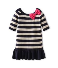 Lilly Pulitzer Kids Adele Sweater Dress (Toddler/Little Kids/Big Kids) True Navy - Zappos.com Free Shipping BOTH Ways