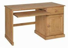 Tarka Pine Single Pedestal Computer Desk-http://solidwoodfurniture.co/product-details-pine-furnitures-492-tarka-pine-single-pedestal-computer-desk.html