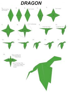 origami del dragon