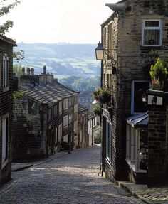 Haworth, England and the Bronte Parsonage Museum