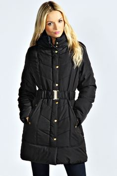 Long Black Winter Jacket