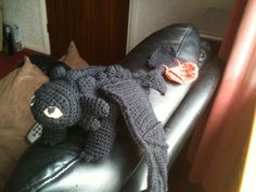 Meet toothless :-)