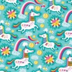 Helen Dardik-- Unicorns pattern loveeeeeeeeeeeeeeeeeeeeeeee