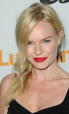 Kate Bosworth wearing Red Lipstick