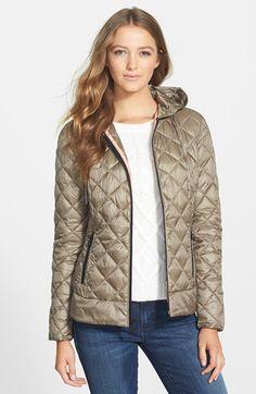 Bernardo+PrimaLoft®+Hooded+Jacket+available+at+#Nordstrom