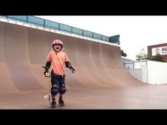 This Nine-Year-Old Girl Nailed Her Skateboarding Stunt Like a Boss