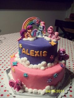 My Little Pony By jdegeeter on CakeCentral.com