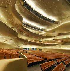 The Guangzhou Opera House by Zaha Hadid Architects