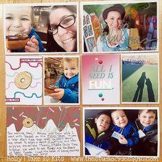 Painted Ladies Journal: Using Up the January Take 10 Kit IG: paintedladiesjournal