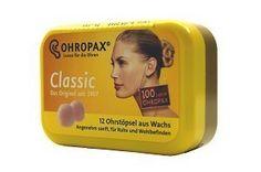 Ohropax Ohropax Wax Ear Plugs 12 plugs:Amazon:Everything Else