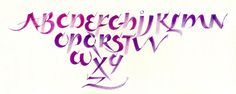 Image result for calligraphy block letters brush
