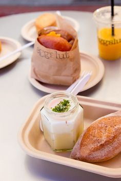 An ode to eggs: Eggslut's breakfast sandwich (in LA's Grand Central Market) is not to be missed.