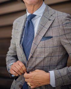 New Sprezzatura   fcelentano:   Suit details  Jacket: @gabo_napoli....