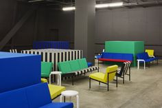 Collectors Lounge Design Miami/Basel 16 - Artek + Kvadrat