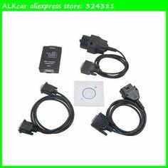 ALKcar 1pc Professional diagnostic tool for bmwcar carsoft 6.5 high quality carsoft V6.5 for bmwcar ECU programmer