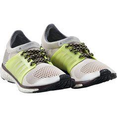 adidas da stella mccartney trochilus impulso di scarpe da ginnastica in lizard / verde