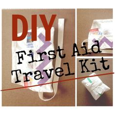 DIY First Aid Travel Kit