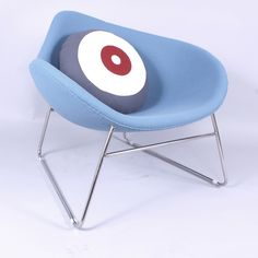 K2 Chair - Blue 1, France and Son http://www.franceandson.com/k2-chair-blue.html