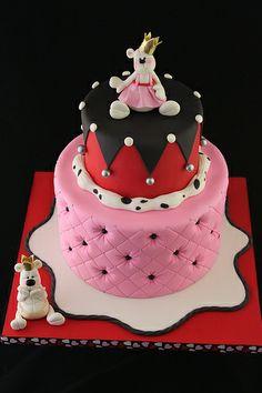 Little Prince and Princess demo cake