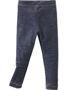 Jersey Leggings for Baby - Girls just want to have fun! These leggings may be a blast from the past but they are definitely in babys future. Stretch jersey offers a flexible fit to follow her every move.