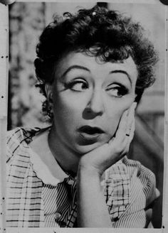 A young Thora Hird, comedy legend