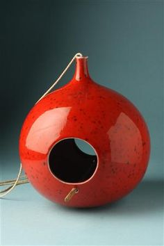 Birdhouse, designed by Stig Lindberg for Gustavsberg