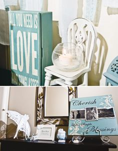 """{Vintage Style} """"All You Need is LOVE"""" Bridal Shower"""