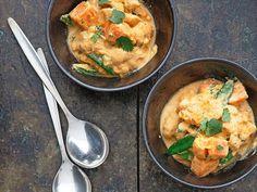Curry de poulet à la courge