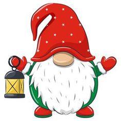 Christmas Rock, Christmas Gnome, Xmas, Christmas Night, Christmas Drawing, Christmas Paintings, Illustration Noel, Christmas Decorations, Christmas Ornaments