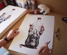 Découvrez les superbes croquis de PEZ réalisés au crayon à papier | Buzzly