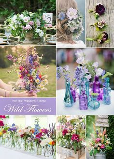 Who says your flowers have to be perfectly compact? The next big thing in florals is the free-flowing style of loose arrangements. The Biggest Wedding Trends of The Year