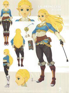 Zelda: Breath of the Wild concept art