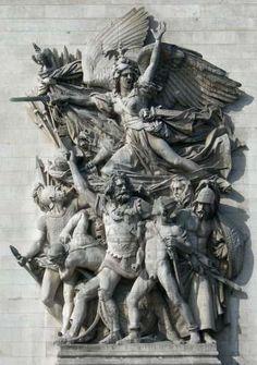 François Rude : La Marseillaise, Arc de Triomphe