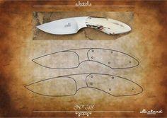 Knife Shapes, Knife Template, Diy Knife, Knife Patterns, Handmade Knives, Custom Knives, Knife Making, Blacksmithing, Metal Working