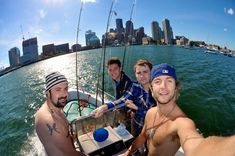 Fishing in Boston with Colm, Barry and Dave - keith-harkin Photo