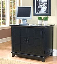Product Home Styles® Prairie Compact Computer Cabinet - Black & 9 best Computer carts images on Pinterest | Computer cart Office ...