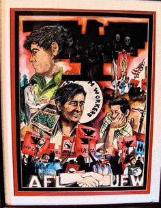 Art by Ramiro Ordonez Acrylic Painting   Title:  Chavez