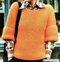 Blog de tricot et crochet répertoriant d'anciens modèles, des modèles vintages, de pulls tubes et de pulls qui se tricotent d'une pièce.