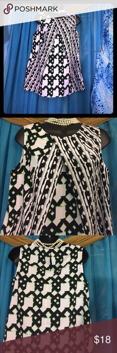 PETER PILOTO Patterned Tunic-Size Medium P.Pilotto-Target print Tunic with front pleats & hook closure in back. Retails at $49 Peter Pilotto Tops Tunics