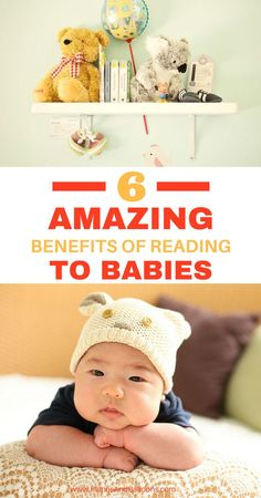 Reading to babies is far more important than just a pass-time activity. You can absolutely enhance your baby's cognitive development by reading from early infancy. Learn about five amazing benefits of reading to babies. Plus discover what types of books truly speak to babies and some extra activities that promote longlasting love for books.