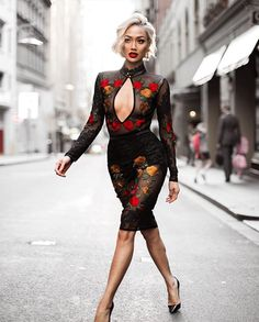 Queen of Slay Sydney fashion blogger Micah Gianelli wearing House of Maguie DALIAH Black Peek A Boob Sheer Mesh Embroidery Dress. Black sheer dress, embroidery fashion, mesh dress, mesh bodysuit, https://www.houseofmaguie.com Online UK Premium Luxury Celeb Fashion Boutique, an affordable empowered woman's fashion empire, where elegance meets a dash of daring! Shop for Premium Bandage dresses, Bodycon dresses, Skater dresses, Party dresses, Glamour dresses for curvy luxury women's fashion.