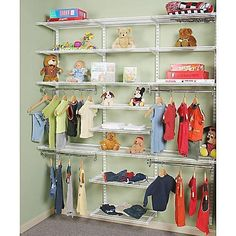 Designing and Organizing Your Kid's Closet 2