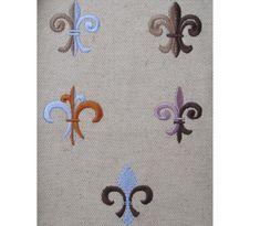 Fleur de Lis  5 types  machine embroidery design  by artapli, $3.99