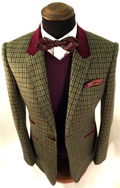 The Peckham Rye One Button TWEED! - £650